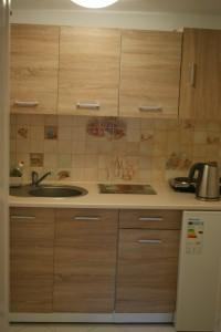 Apartament Lipowa - aneks kuchenny