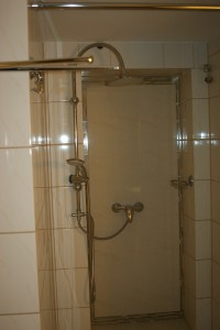Apartament w Międzyzdrojach - natrysk